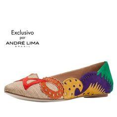 Vi o sapato Flor-Arco-Íris no site da olook e amei! <3 www.olook.com.br/produto/8303