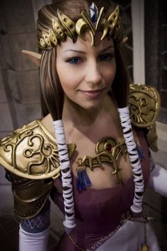 Zelda - I think cosplay is pretty awesome!