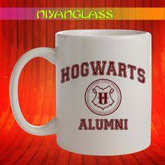 hogwarts alumni mug, hogwart... from Niyanglass on Wanelo