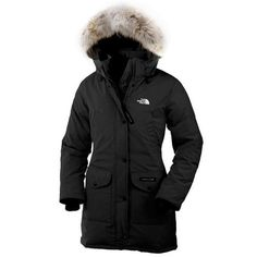 The North Face Long Black Down Jacket
