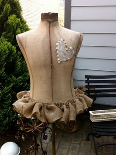 precoius vintage dress form by AliLej on Etsy, $425.00