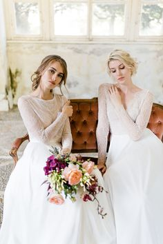 Beautiful handmade wedding Dresses by Julia Sophie. Handmade with love in Austria Handmade Wedding Dresses, Girls Dresses, Flower Girl Dresses, Bridal, Instagram, Design, How To Wear, Austria, Beautiful