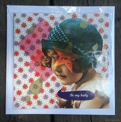 Hübsche Postkarte mit passenden Umschlag von La Marelle - C3/MH10