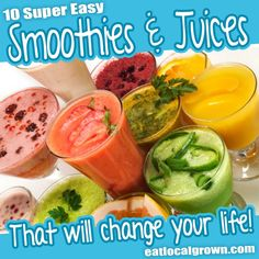 These Smoothies and Juices are loaded with antioxidants, phytochemicals, and flavonoids, which are vital for cellular health and disease prevention.