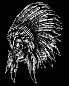 Recent Vector work on Behance Tattoo Drawings, Body Art Tattoos, Art Drawings, Native Art, Native American Art, Indian Skull Tattoos, Native Tattoos, American Indian Tattoos, Skull Pictures