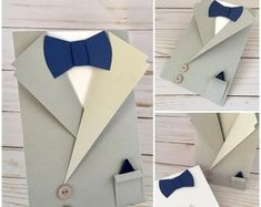 Baby blue /& white polka dot pré attaché Garçons Nœud Papillon Réglable wedding prom dickie