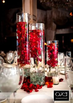 Red Wedding Decoration Decoration Suggestions And Suggestion - http://uniqueweddingdecoration.com/flower/red-wedding-decoration-decoration-suggestions-and-suggestion/ red and white wedding decor for tables, red wedding table decoration ideas, red white wedding decoration ideas, wedding decoration red and yellow, wedding red roses centerpieces