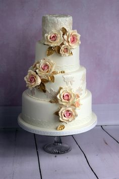 Find This Pin And More On Wedding Cake Inspiration From Sticky Fingers Co