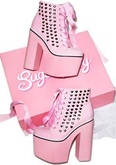 SUGARBABY Kawaii Sweet Street Platform Sneakers - Dolls Kill