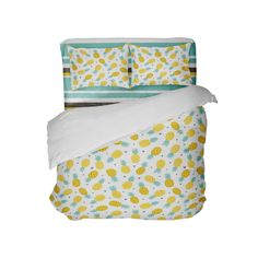 Hawaiian Pineapples Comforter with Beach Stripe Sheet Set Toddler Comforter Sets, Queen Size Comforter Sets, King Size Comforters, Bedding Sets, Pineapple Comforter, Beach Comforter, Duvet, Dorm Room Comforters, Hawaiian