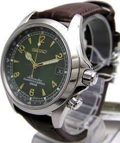 Seiko automatique Alpinist montre SARB017 416€