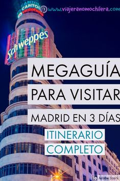 Qué ver y hacer en Madrid en 3 días: itinerario completo - Places To Travel, Travel Destinations, Places To Visit, Madrid Tours, Kerala Tourism, London Underground, Portugal Travel, Andalucia, World Traveler
