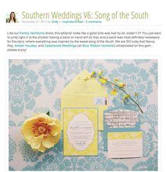Song of the South :: Southern Weddings Magazine | Cedarwood Weddings