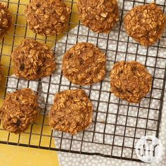Clean Banana Oat Cookies I was pleasantly surprised about the cakey texture of the cookies Thanks for the recipe cookies cookierecipes bakingrecipes dessertrecipes cookieideas Oat Cookie Recipe, Healthy Cookie Recipes, Oats Recipes, Healthy Cookies, Healthy Sweets, Healthy Baking, Smoothie Recipes, Clean Food Recipes, Banana Recipes Videos
