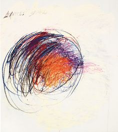 © Cy Twombly Foundation. Twombly 1978 Shield of Achilles