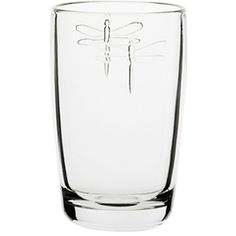 Give your dinner table a regal touch with glassware from La RochereDragonfly 6-piece glass set features embossed dragonfly motifs based on the famous Napoleonic glasswareEach tall glass holds 13 ounces of your favorite beverage
