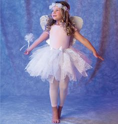 Children's/Girls' Fairy Costumes. McCall's sewing pattern.