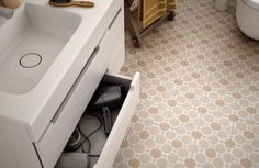 warm beige orange nude polka dot floor tile https://metrocsempeshop.hu/uploads/shop/metrocsempeshop.hu/cms_elem/3053_3_big.jpg