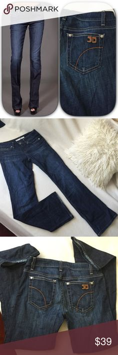 """Joes Jeans dark wash Jeans Joes Jeans dark wash Jeans in boot cut styling.  These jeans have great space for a booty and are in great condition. Inseam measures 29"""" long 13"""" across waist and a 8"""" front rise Joe's Jeans Jeans Boot Cut"""
