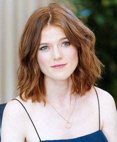 Rose Leslie at 'The Good Fight' Los Angeles Press Conference (October Rose Leslie, Hair Lights, Light Auburn Hair, Light Hair, Thin Lips, Bonnie Wright, Female Pictures, Flawless Beauty, New Hair Colors