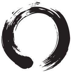 spiritual tattoos buddhist - Zen circle on white Stretched Canvas 1276 Cool Tattoos, Tatoos, Zen Tattoo, Zen Symbol, Buddhist Traditions, Spiritual Symbols, Symbols And Meanings, Symbol Tattoos, Tattoo Ideas