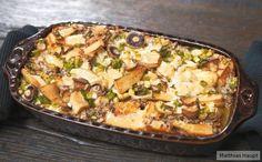 Toast-Pilz-Gratin