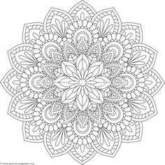 Flower Mandala Coloring Pages – You can find Mandala coloring pages and more on our website.Flower Mandala Coloring Pages – Mandala Art, Mandala Design, Mandala Meditation, Mandala Drawing, Drawing Flowers, Mandala Pattern, Coloring Sheets, Coloring Books, Coloring Tips