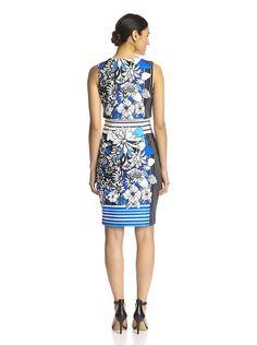 Badgley Mischka Women's Printed Popover Dress at MyHabit
