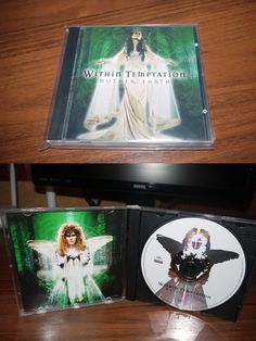 Within Temptation - Mother Earth ( another green cover Roadrunner Record) 2007