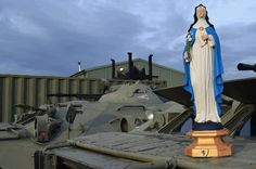 Campomaiornews: Imagem de Santa Beatriz da Silva no Kosovo como pr...