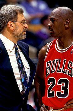 Phil Jackson & Michael Jordan