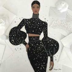 Fashion Drawing Dresses Sketches Megan Hess 44 Ideas For 2020 Black Girl Art, Black Girl Magic, Art Girl, Black Art, Fashion Prints, Fashion Art, Girl Fashion, Fashion Design, Fashion Ideas