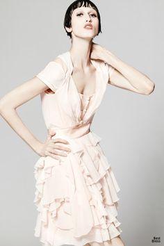 ¿Que vestidos de moda usar para ir a un cóctel?