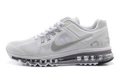 Elija Nike Air Max 2013 Mujeres Zapatillas de Running Cool Grises/Platas a su medida en nuestra tienda online