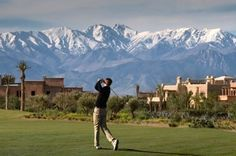 Golf Course Samanah Golf & Country Club in Marrakech, Morocco - From Golf Escapes