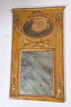 18th c. Salesman's sample Trumeau. image 2