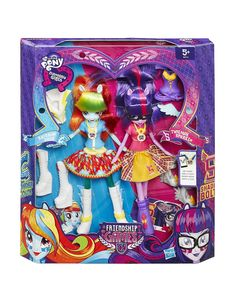 MLP ASDA Exclusive Rainbow Dash and Twilight Sparkle Equestria Girls Friendship Games 2-pack