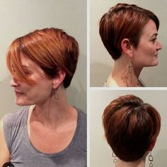 long+red+pixie+with+highlights
