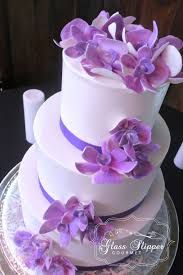 Image result for cake with icing orchids