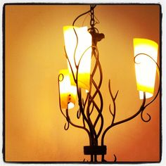 Both rustic and gorgeous #rustic #decor #lighting #interiordecor At Creative Creations @Creative Creations, Inc. USA