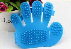 Pet Bath Gloves Brush Bath Massage Dog Comb Wool Puppy Cat Cleaning Pet Supplies pet dog grooming brush washing Tool