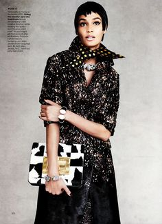 Joan Smalls by Patrick Demarchelier for Vogue September 2013