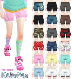 [Kabopan(Kabotya Pants) for female]DOWNLOAD/MediaFirecategory:clothing bottom.re-mesh by me.original mesh is EA.You can use it as you want.please enjoy it.色追加したり直したりなんでもお好きなようにお使いください。[Kabopan No furill version] DOWNLOAD/MediaFirecategory:clothing bottom version.[kabopan category/tights version]DOWNLOAD/MediaFirecategory:tights,leggings ワンピースやスカートなどと一緒に着用できますが大体のものはパンツが突き破ります。広がったスカートなどにどうぞ。thank you for all CC creators :)