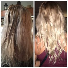 Have you detoxed your hair?? Look what using natural ingredients in Monat to remove all the wax buildup can do.
