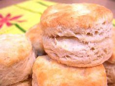Put biscuits in fridge for 10 minutes Before baking to get them sky high and flaky! (Easy Butter Biscuit Recipe)