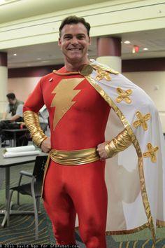 Captain Marvel (Shazam!) http://25.media.tumblr.com/tumblr_lzpmrnFKOn1qzky0mo1_500.jpg #cosplay