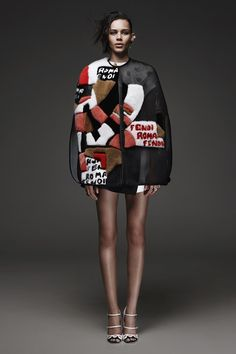 Fendi, pre-spring/summer 2015 fashion collection