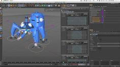 In this video I will show you how you can use cMotion for a more complex character driven with IK. I will show you how you can make a character walk over a spline, a landscape and even a complex shape like a staircase.