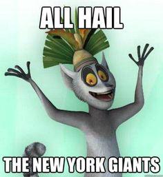 Julian All hail the New York Giants!