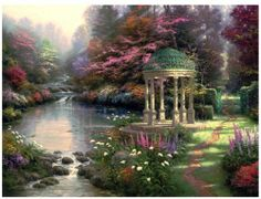 Plaid Paint by Number Kit Thomas Kinkade Garden of Prayer, 20-Inch by 16-Inch by Plaid, http://www.amazon.ca/dp/B00IB4ZPHK/ref=cm_sw_r_pi_dp_aXlltb1B9JB1M